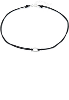 Adina Pave Oval Choker Necklace