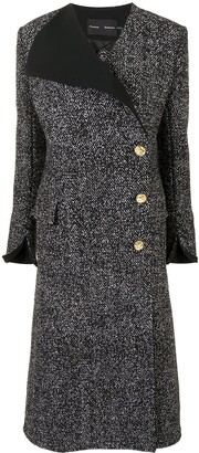 Proenza Schouler Tweed Double-Breasted Coat
