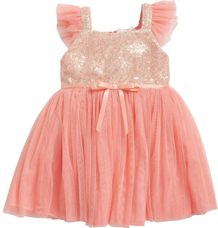 72ea67ae02 Girls Sequin And Tulle Dress - ShopStyle