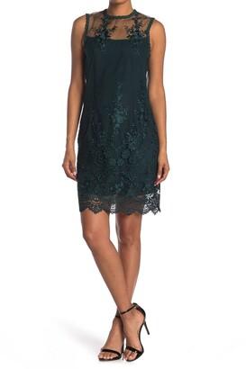 Nanette Lepore Lace Knit Sleeveless Dress