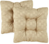 JCPenney Reflections Set of 2 Reversible Chair Cushions