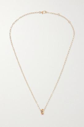Pomellato Iconica 18-karat Rose Gold Multi-stone Necklace - one size