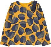 Catimini Printed crepe blouse