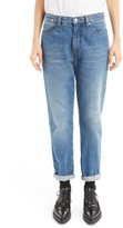 Dries Van Noten Women's Cuffed Straight Leg Jeans