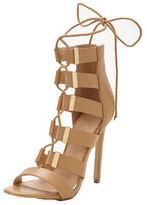 Lipsy Shona Ghillie Tie Heeled Sandals