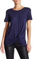 Joe Fresh Shimmer Notched Tee