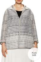 Lafayette 148 New York Women's Griffin Striped Jacket
