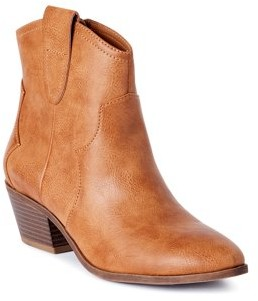 Scoop Womens Willow Western Booties