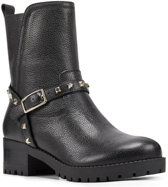 Nine West Leather Ankle Booties - Renee
