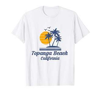 Topanga Beach California Shirt CA Surf Tourist Souvenir Gift