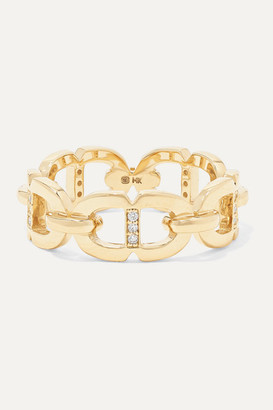 Sydney Evan 14-karat Gold Diamond Ring - 6
