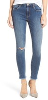 BP Women's Ripped Skinny Ankle Jeans