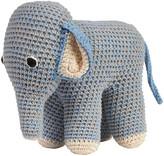 Anne Claire Crochet Elephant - Blue/Grey