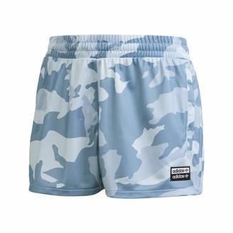 adidas Women's Shorts Sky Tint/Shadow Blue/Easy Blue L/G