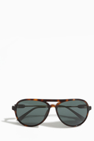 Orlebar Brown Tortoise Acetate Aviator