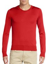 Dolce & Gabbana Silk Crewneck Sweater