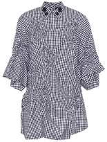 Simone Rocha Checked cotton blouse