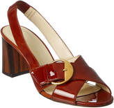 Bettye Muller Pepper Patent Sandal
