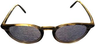 Oliver Peoples Grey Plastic Sunglasses