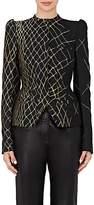 Haider Ackermann Women's Jacquard Peplum Blazer