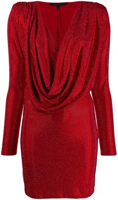 Philipp Plein crystal embellished dress