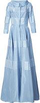 Carolina Herrera solid taffeta gown