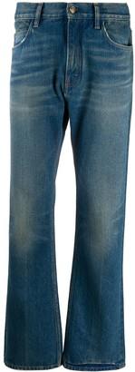 Alanui Faded Straight-Leg Jeans