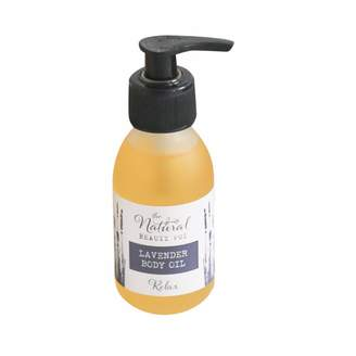 The Natural Beauty Pot Lavender Body Oil