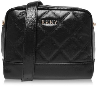 DKNY Soft Leather Zip Top Bag