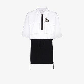 Burberry Double Layer Cotton Shirt