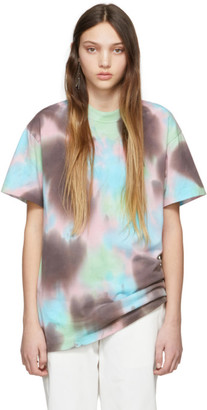 Ambush SSENSE Exclusive Pink A Waves Tie-Dye T-Shirt