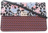 Etro jacquard clutch - women - Silk/Polyester - One Size