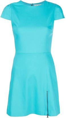 Alice + Olivia Fitted Mini Dress