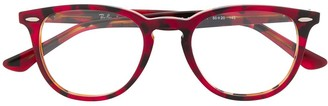 Ray-Ban RB7159 round-frame glasses