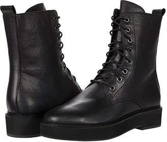 Eileen Fisher Nelly (Black) Women's Lace-up Boots