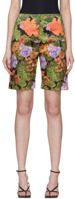 Richard Quinn Multicolor Floral Shorts