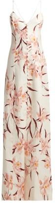 Zimmermann Corsage Floral-print Linen Dress - Womens - Cream Print
