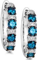 LeVian Le Vian Exotics Diamond Hoop Earrings (5/8 ct. t.w.) in 14k White Gold