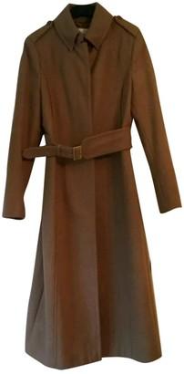 LK Bennett Beige Wool Coat for Women