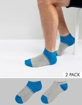 Boss By Hugo Boss Trainer Socks 2 Pack
