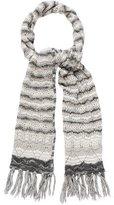 Missoni Merino Wool-Blend Open Knit Scarf