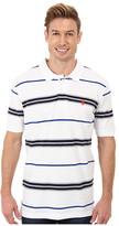 U.S. Polo Assn. Multistripe Short Sleeve Pique Polo