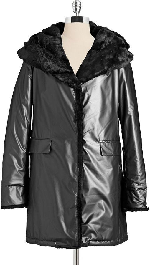 Jane Post Faux Fur Coat