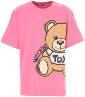 Moschino Maxi T-shirt W/side Teddy