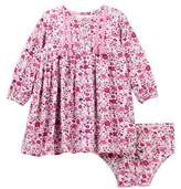 Jessica Simpson Floral Dress & Bloomer Set (Baby Girls)