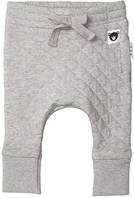 HUXBABY Stitch DC Pants (Infant/Toddler) (Grey Marle 2) Kid's Casual Pants