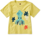 Tea Collection Squid Graphic T-Shirt