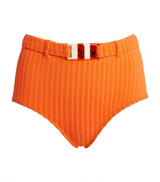 Solid & Striped The Ginger Ribbed Bikini Bottoms