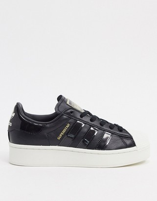 adidas Superstar Bold sneakers in black