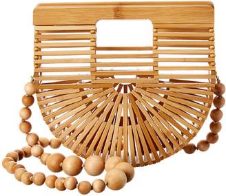 Cult Gaia Ark Micro Bamboo Crossbody